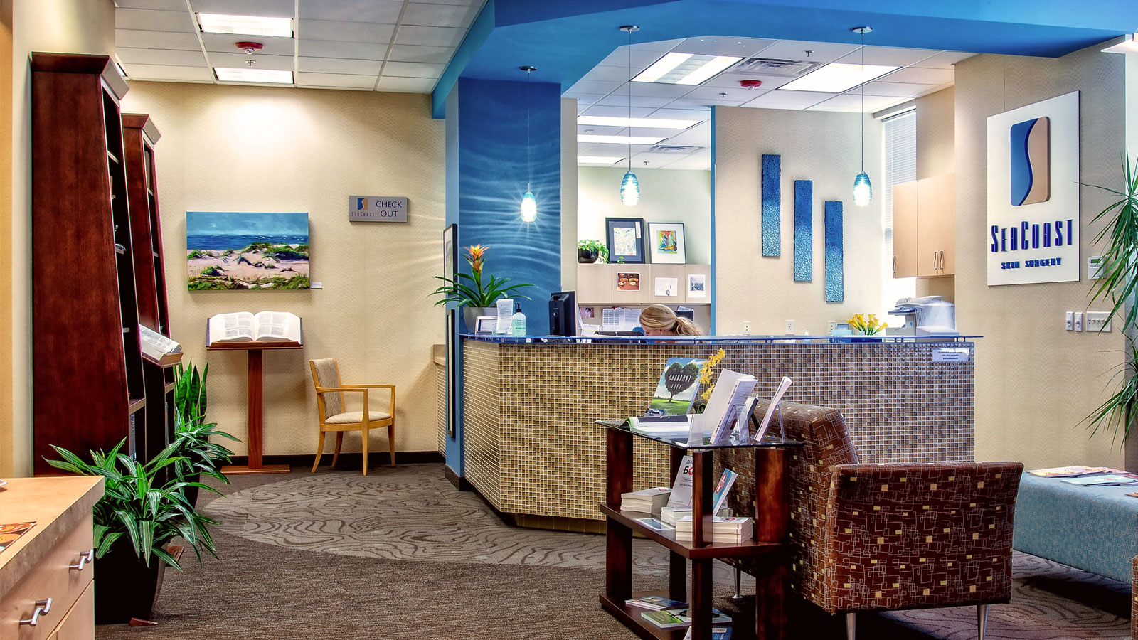 SeaCoast Skin Surgery Lobby