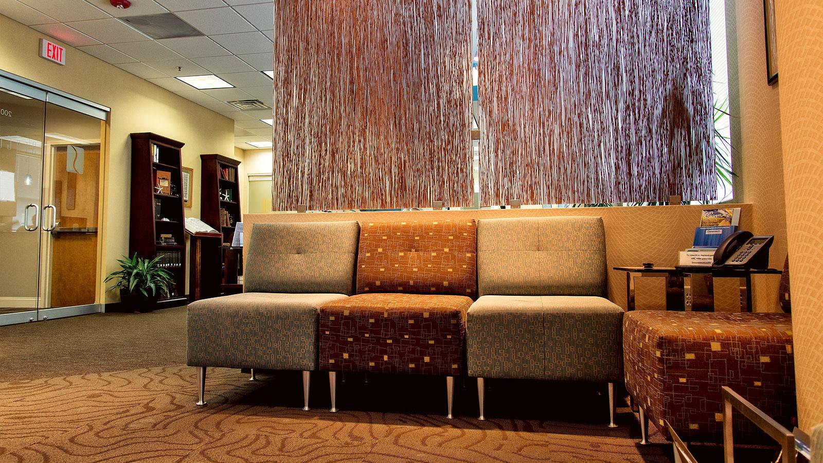SeaCoast Skin Surgery Waiting Area